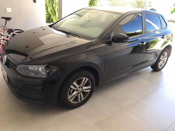 Volkswagen Novo Polo 1.0 5p 2019 Preto Único Dono Impecável