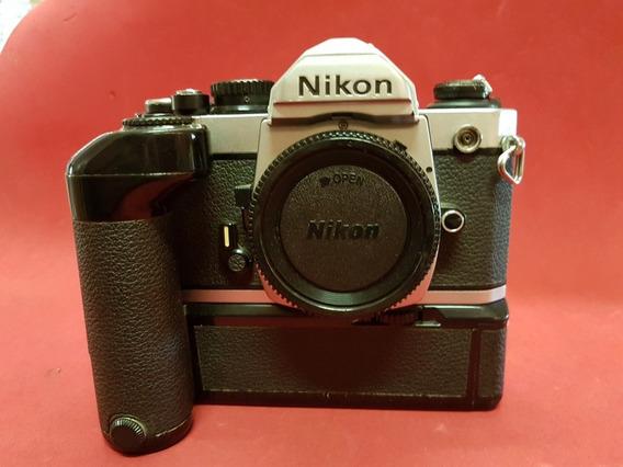 Câmera Nikon Fm2 Mais Motor Md-12