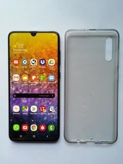 Samsung Galaxy A70 Negro, Practicamente Nuevo