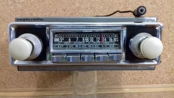 Rádio Carro Antigo Vw Fusca Kombi Gordini Dkw Rural Willys