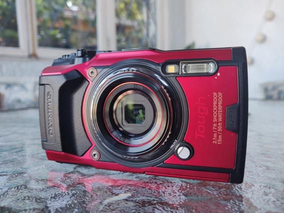 Camera Olympus Tough Tg-6 + Kit C/ Bateria + Bag + Capa