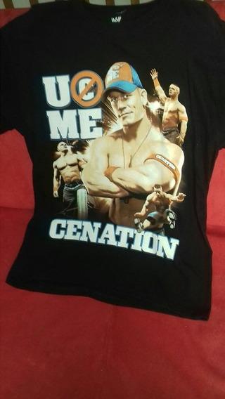 Playera Oficial Wwe John Cena M Lucha Libre