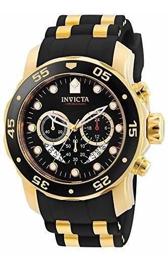 Invicta 6981 Pro Diver Reloj Analógico Suizo Cronógrafo Negr