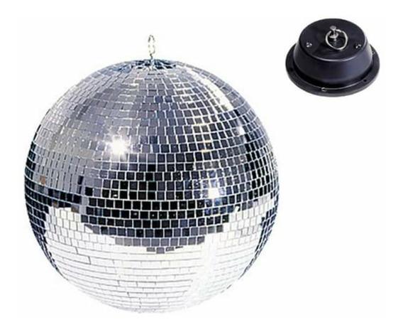 Esfera - Bola De Espejos 50cm Grande Con Motor Giratorio