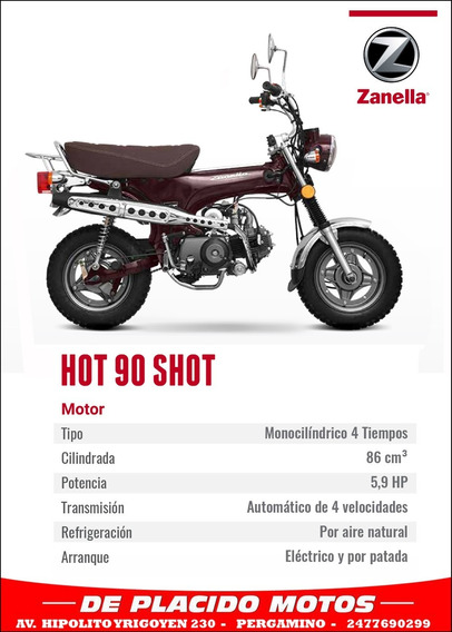 Zanella Shot Hot 90