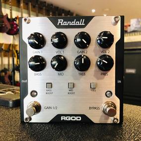 Pedal Pré-amp Distortion Randall Rgod (mostruário) + Nf