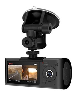 Bluetooth Bpdv142 Dual Camera Dashcam Con Gps, 2.7