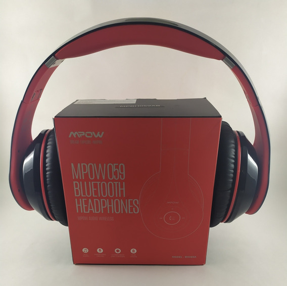 Mpow 059 Bluetooth Headphones Over Ear - Color Rojo