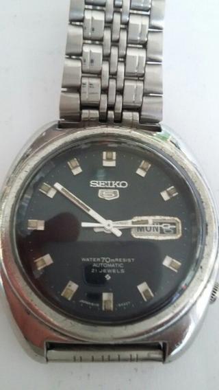 Relógio Seiko 5 6119-8090 Raro ( 58a) )