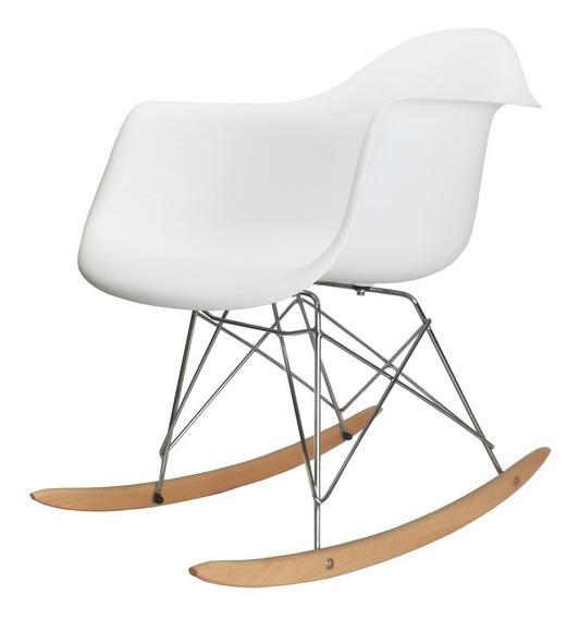 Cadeira Charles Eames Rar - Balanço Design Branca Inovartte