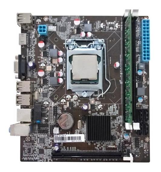 Kit Processador I3 540 + Placa Mãe + Memória 4gb