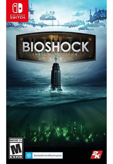 Bioshock: The Collection - Switch Mídia Física