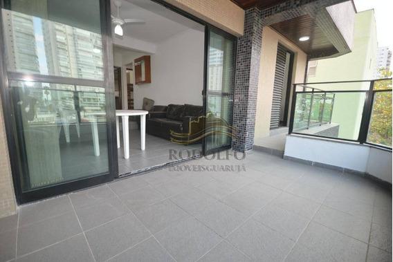Apartamento Com 3 Dts, 2 Suítes À Venda, 107 M² Por R$ 450.000 - Praia Das Astúrias - Guarujá/sp - Ap1101