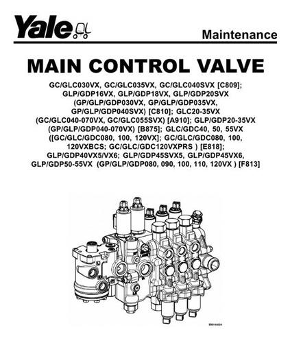 Manual Manutencao Comando Valvulas Empilhadeira Yale