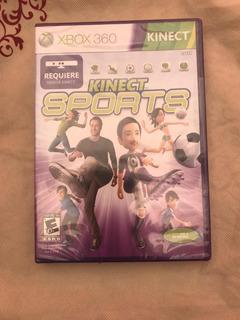 Kinect Sport Para Xbox 360 Sellado.