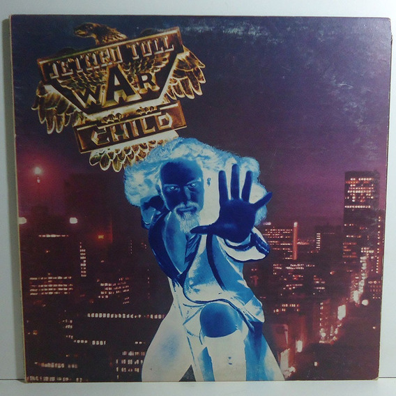 Jethro Tull 1974 War Child Lp Queen And Country Importado