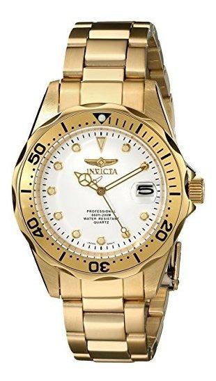 Invicta 17053 Pro Diver Reloj De Oro De Cuarzo Japona©s De