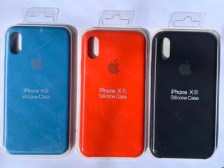 Funda iPhone 6/6s/7/8plus X/xs Max 11 Pro/max Rojo Azul Negr