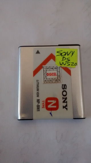 Bateria Cam. Digital Sony Cyber Shot Dsc-w520 Envio T.brasil