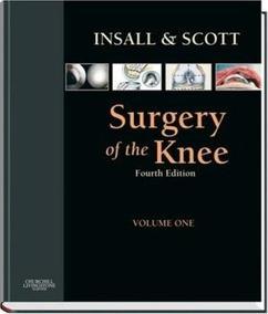 Insall & Scott Surgery Of The Knee Novo Lacrado