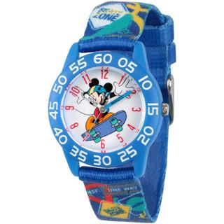 Reloj Disney Para Niño Wds000126 Tablero De Mickey Mouse