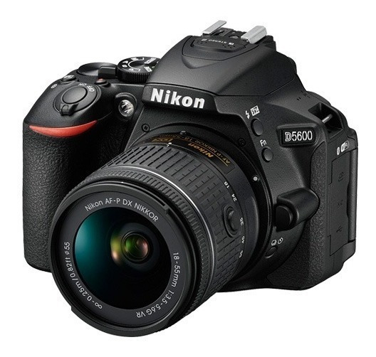 Nikon D5600 Reflex Kit 18-55 Full Hd Wifi 24mp + 16gb+ Bolso