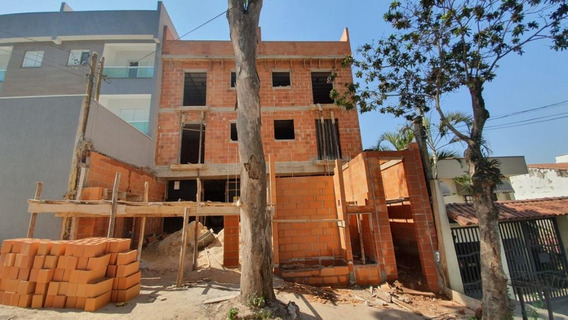 Cobertura Com 2 Dormitórios À Venda, 92 M² Por R$ 280.000,00 - Vila Pires - Santo André/sp - Co0741
