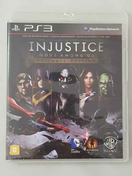 Injustice Gods Amoung Us Ultimate Edition Português Ps3