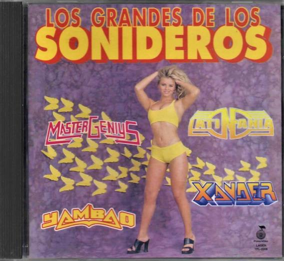 Los Grandes De Los Sonideros - Fono Visa - 1997 - Cd - Usado