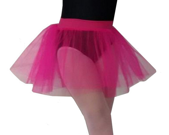 Pollerin Tutu De 3 Capas Baile Danza Clasica Cintur De Lycra
