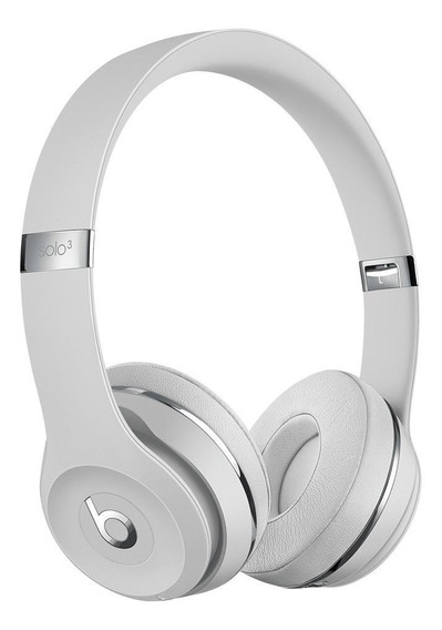 Fone de ouvido sem fio Beats Solo³ Wireless satin silver