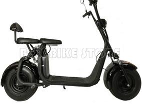 Moto Chopper Eléctrica Doble Suspensión Modelo Harley