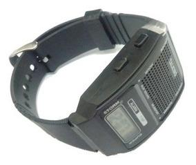Kit Relógio Despertador + Relógio De Pulso Fala Hora