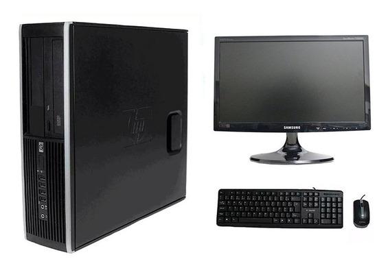 Computador Hp 8100 I5 8gb 120ssd Monitor 19 Polegadas