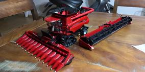 Miniatura Colheitadeira Case 9240 Escala 1/32 Ertl Draper