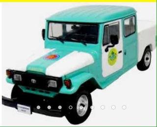 Miniatura Toyota Bandeirante Cabine Dupla Policia Ambiental