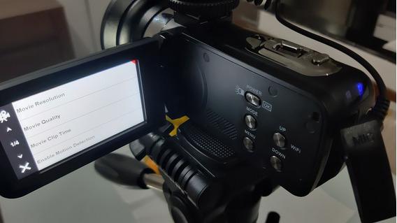 Camera 4k Ultra Hd. Sem Tripé