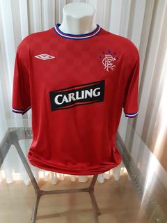Camisa De Futebol Glasgow Rangers, Escócia, Original 2009