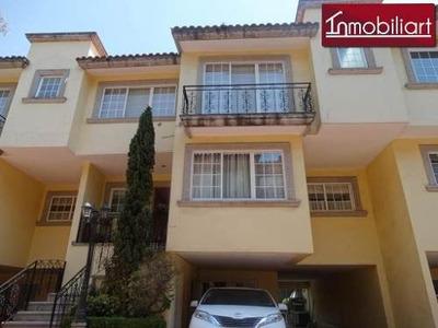 (crm-368-2418) Hermosa Casa En Condominio En Venta O Renta El Molino, Cuajimalpa