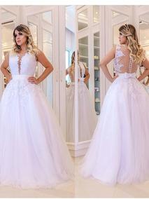 Vestido Barbara Melo Branco Com Perola Vestidos Femeninos