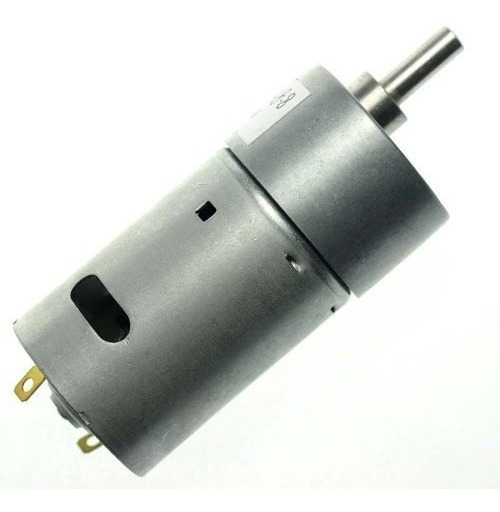 Micro Motor Dc Com Redução 24v 66rpm 5 Kgf.cm