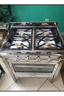 Cocina Industrial Acero Con Horno Industrial