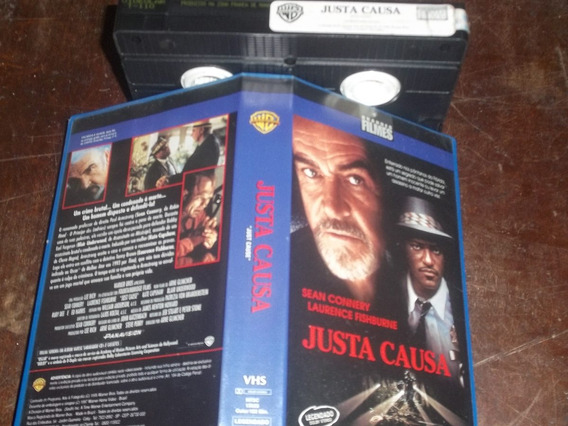Fita Filme Vhs Justa Causa Legendado Sean Connery
