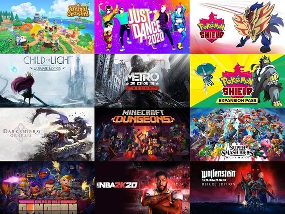 11 Jogos Nintendo Switch (animal Crossing, Pokemon, Smash Br