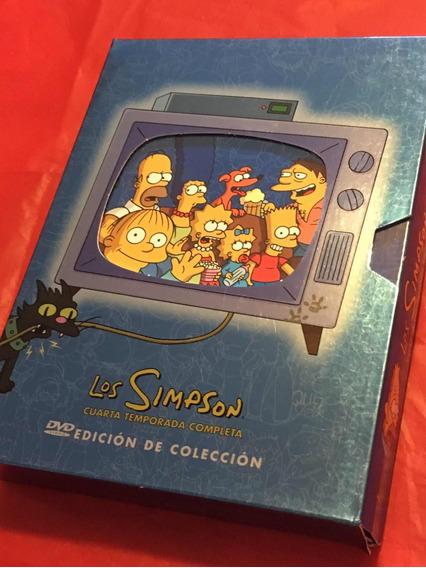 Dvds 4a Temporada De Los Simpson