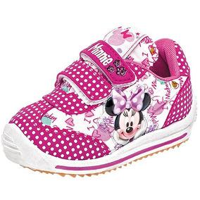 Tenis Sneaker Panam Niña Minnie Mouse 95585 Dtt