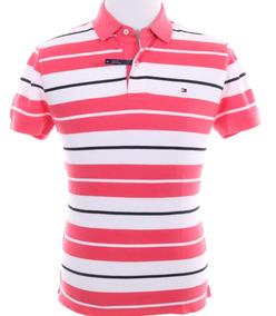 Camiseta Polo Tommy Hilfiger Short Sleeve Fit Stripe