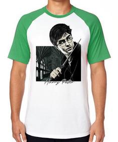 Camiseta Luxo Harry Potter Varinha Bruxo Magico Filme Mago