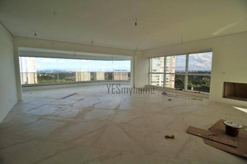 Apartamento Com 4 Dormitórios À Venda, 372 M² Por R$ 3.300.000,00 - Ecoville - Curitiba/pr - Ap3272
