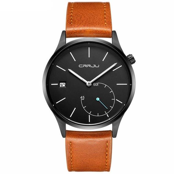 Crrju Accesorio Banda Ajustable Reloj Cuarzo Impermeable Hom